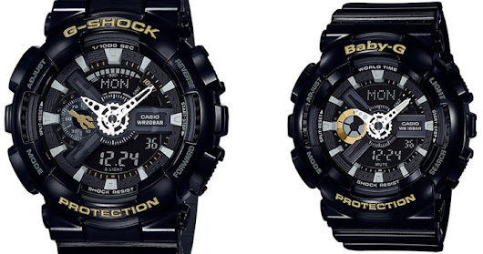 News นาฬิกาคู่ G-Shock และ Baby-G Limited Edition 2018