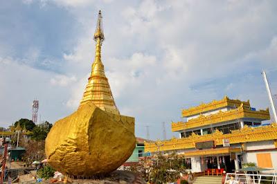 Kyaukthanban, el barco de piedra