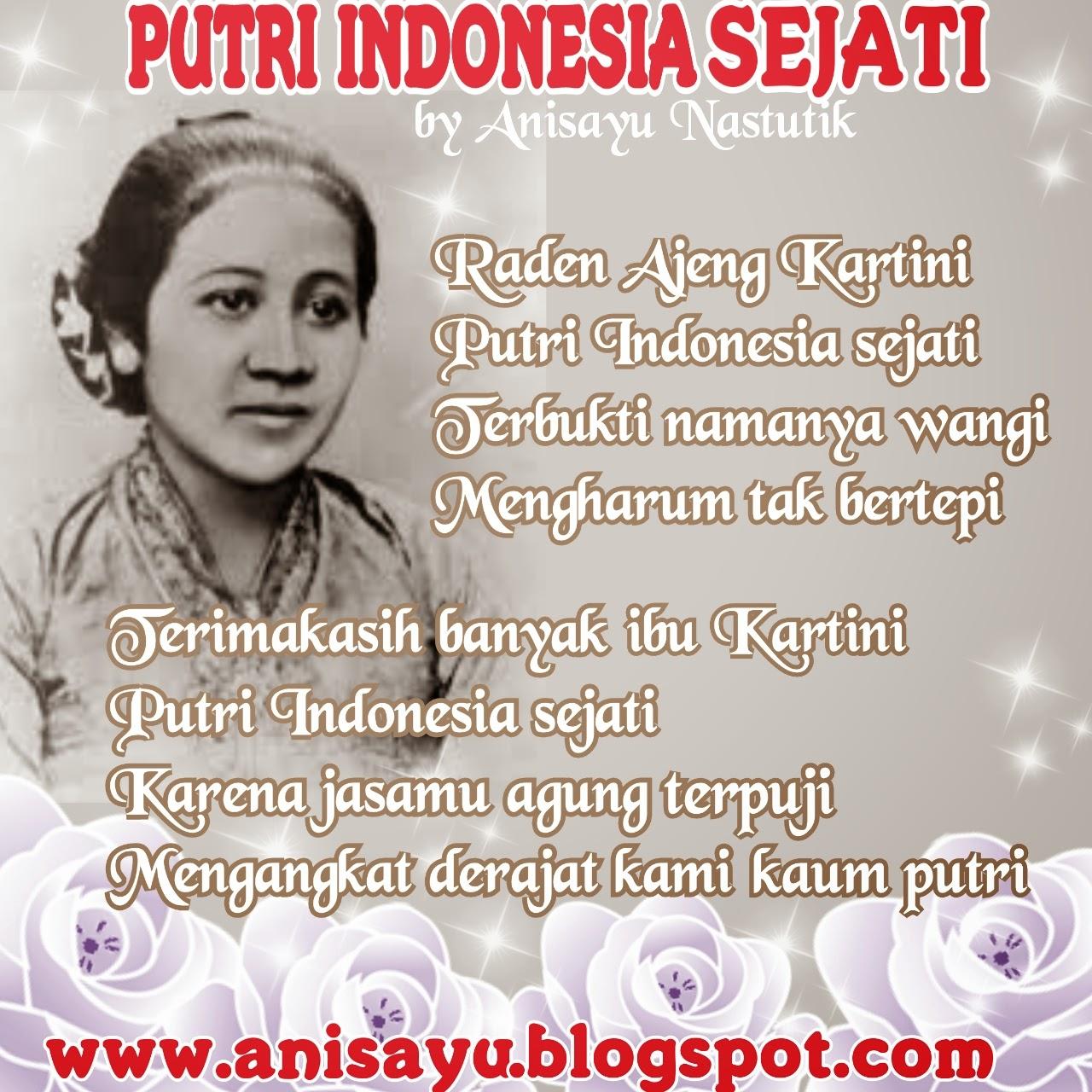 Puisi Cinta By Anisayu Puisi Hari Ra Kartini Putri