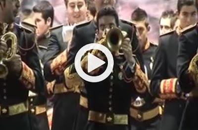 espectacular solo de corneta de la marcha amor corneta y costal tocado por jose maria sanchez martin, compositor, director y arreglista de marchas de semana santa