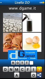 PACCHETTO 2 livello 20 - Soluzioni Trova la Parola - Foto Quiz con Immagini e Parole