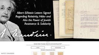 تم الكشف عن رسائل مهمة تعود لالبرت اينشتاين موجهة (لهتلر)