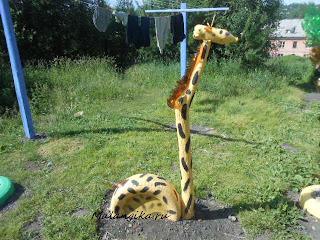 жираф своими руками