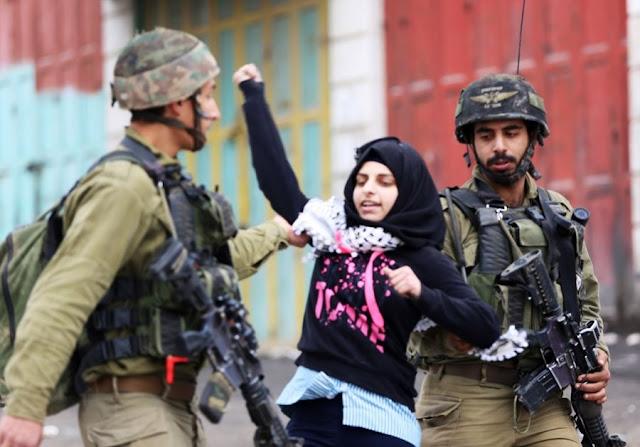 Pasukan Israel Kepung Seorang Gadis Palestina