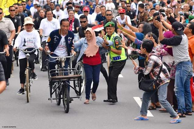 NCID: Bawaslu Harus Bongkar Dugaan Pelanggaran Kampanye Terbuka Jokowi di Jogja