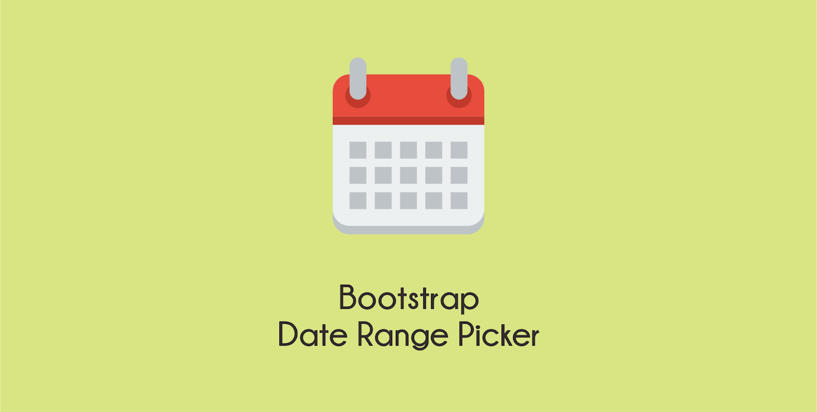 Using Bootstrap Daterange Picker - Coding Cheese