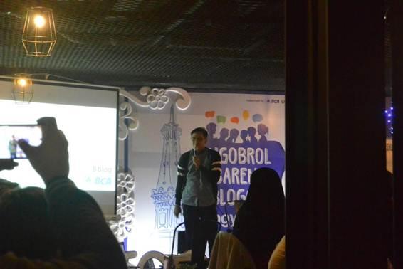 Serunya Ngobrol Bareng Blogger Yogyakarta dan BCA