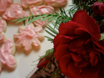 Old German Rose Water Cookies