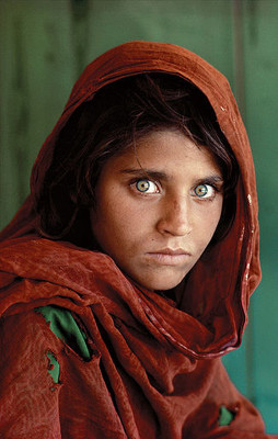 Afghan Girl National Geographic Cover