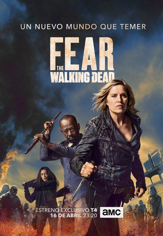 Fear The Walking Dead Temporada 4 HD DUAL - MEGA SERIES