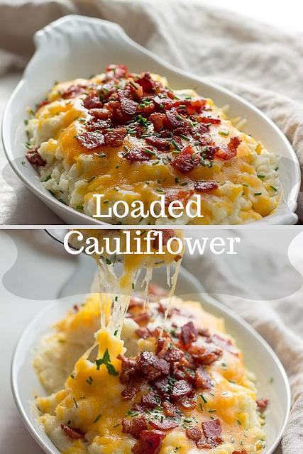 Loaded Cauliflower Low Carb Keto
