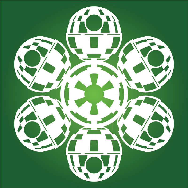 death star snowflake