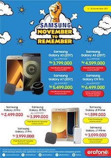 Promo Samsung A series, C9 Pro, J Pro dan J Prime
