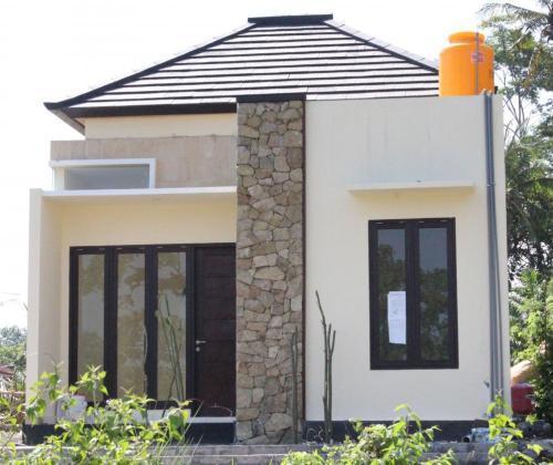 Teras Rumah Minimalis Batu Alam