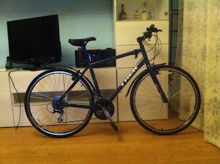 Stolen Bicycle - Trek 7.1 FX