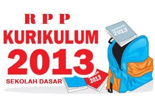 RPP Kelas 3 Kurikulum 2013 Edisi Revisi 2017