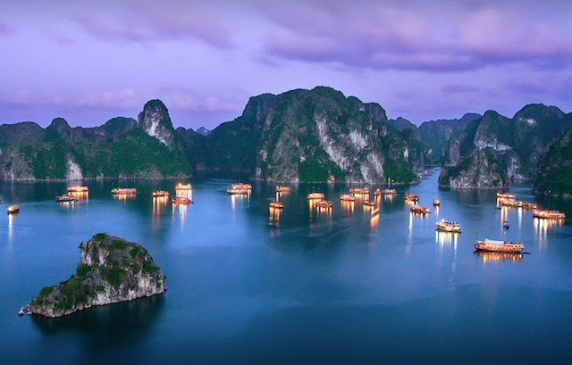 Beautiful Ha Long Bay