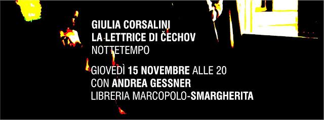 La lettrice di Čechov alla MarcoPolo - giovedì 15 novembre