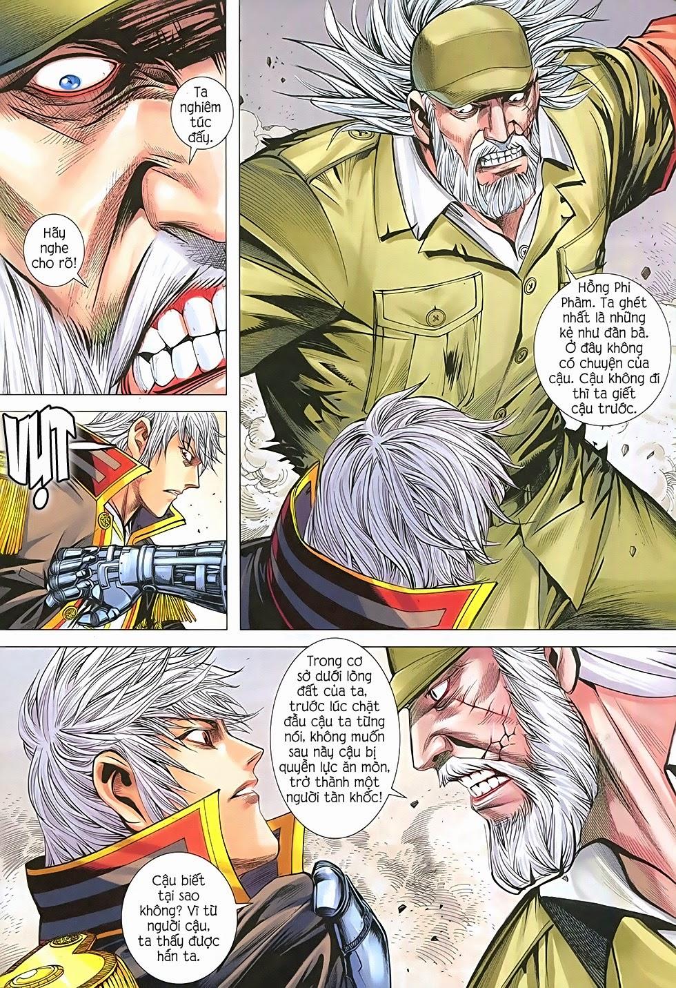 Đại Quân Phiệt chap 36: cuộc chiến cuối của castro trang 25