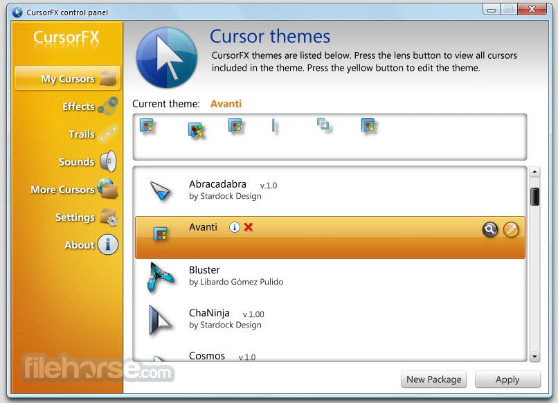 Stardock cursorfx 2.01 plus patch full version