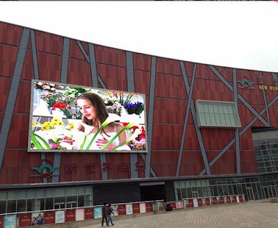 Đơn vị thi công màn hình led p4 ngoài trời tại Đak Lak