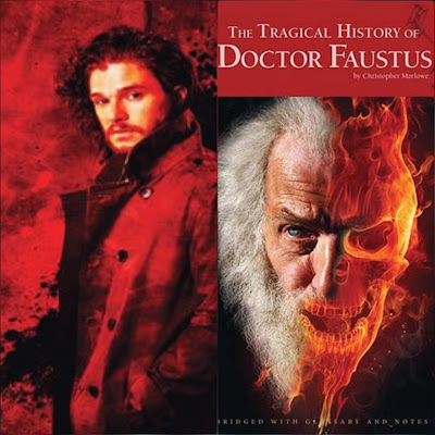 Dr Faustus committed this very harmful sin by surrounding his soul to the devil in order to gain power renouncing Christianity.