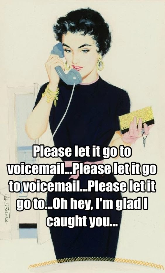how to go straight to leave a voicemail