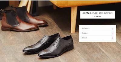 zapatos en oferta para hombre de la marca Jean-Louis Scherrer