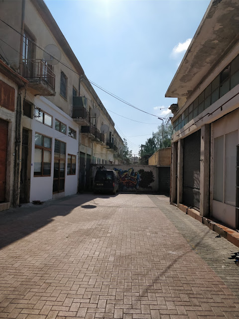 side street in North Nicosia Cyprus