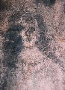 Photo d'un autre visage de Bélmez