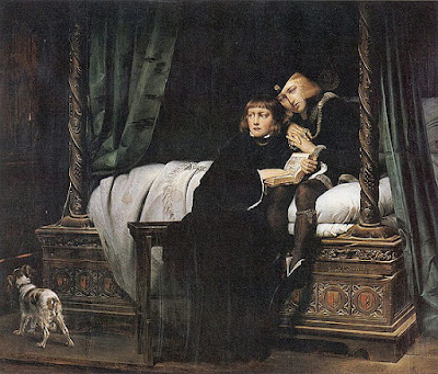 המלך אדוארד החמישי ואחיו הצעיר ריצ'רד במצודת לונדון