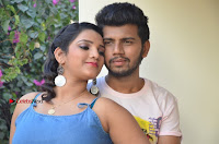 Khayyum, Gourav, Madhulagna Das, Athiya, Sekhar at Chandra Danger Love Story Press Meet  0033.jpg