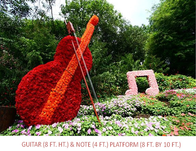 Orion Mall @ Brigade Gateway & Orion East Mall - Bengaluru's Grandest in Mall Flower Show