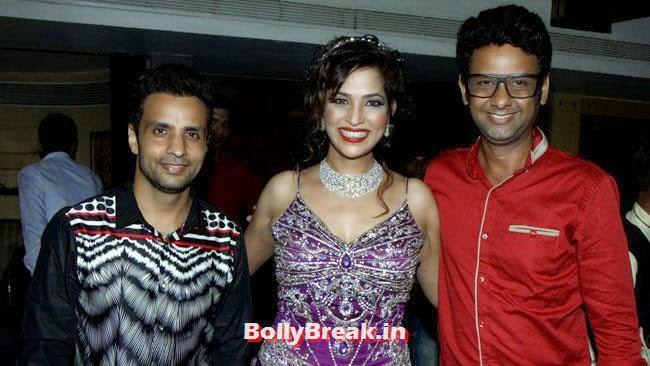 Rajeev Thakur,Tanisha Singh and Rahman Khan, Page 3 Girl Tanisha Singh Birthday Bash Pics