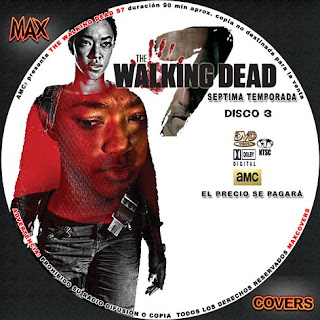 The Walking Dead S7 D3 Maxcovers