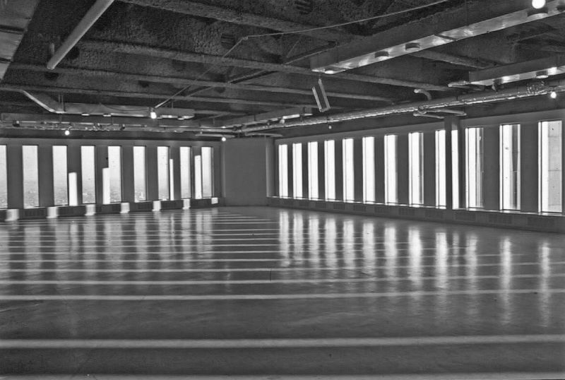 Empty office of one of the 1975 WTC towers