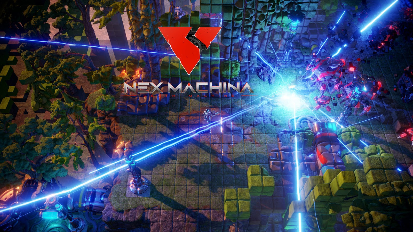 New Machina Twin Stick Shooter