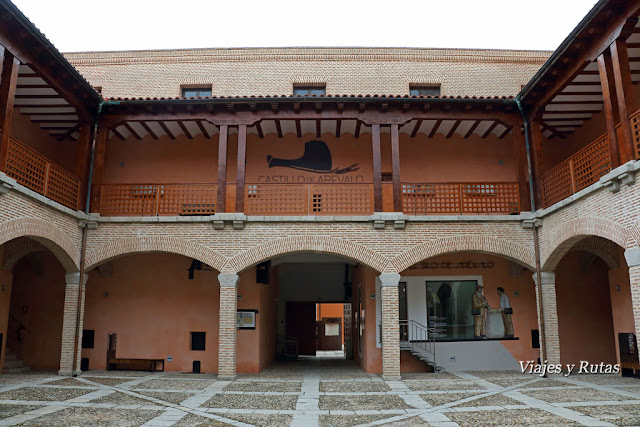 Interior del Castillo de Arévalo, Ávila