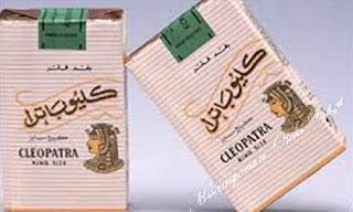 dedektif makanın içtiği kleopatra sigarası