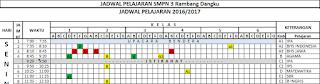 gambar Jadwal Pelajaran SD, SMP, SMA dan SMK