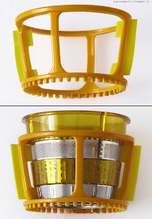 Klarstein Fruitpresso 2G SlowJuicer 150W, spazzole