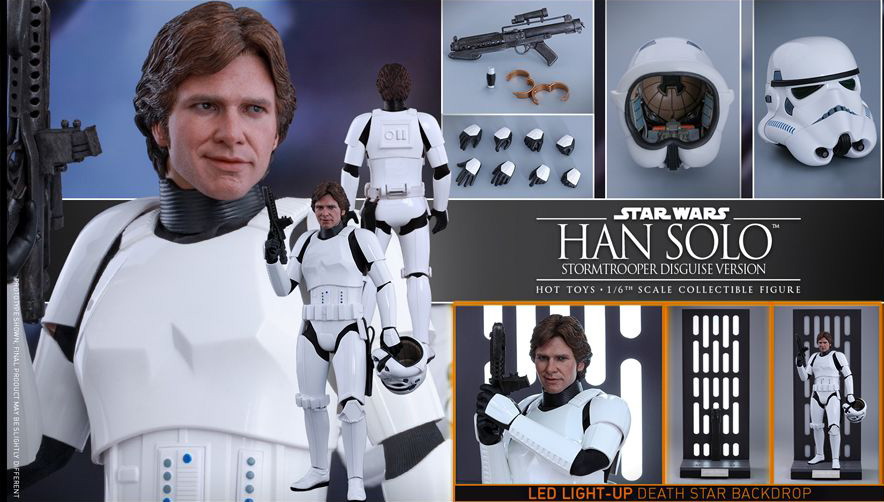 EP. IV - UN NOUVEL ESPOIR - HAN SOLO (STORMTROOPER Disguise Version) 16