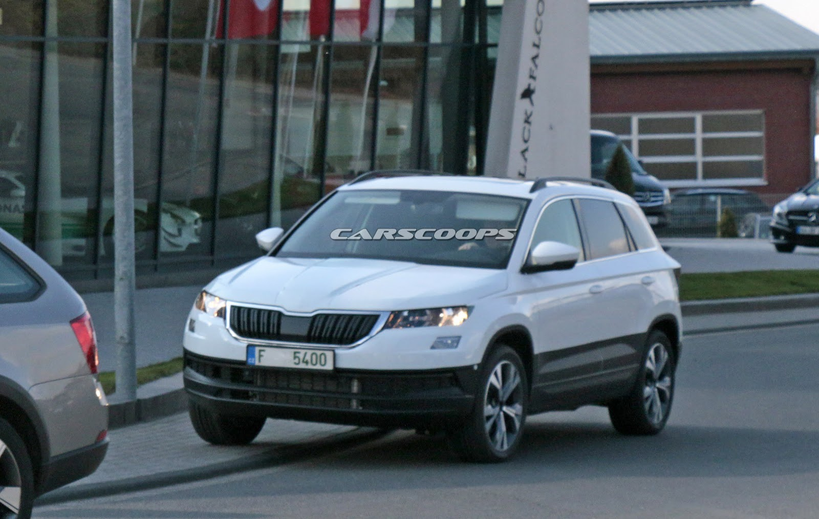 Skoda's New Compact SUV Named Karoq, Debuts On May 18