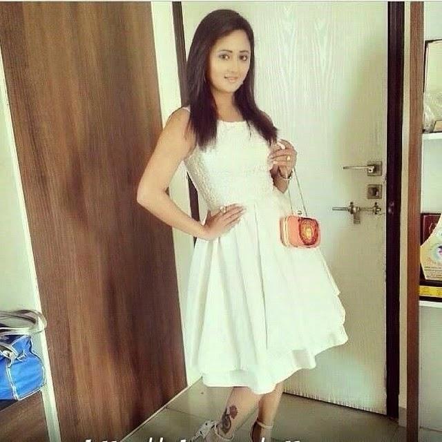 rashmi desai , white , dress , ready , to , go ,