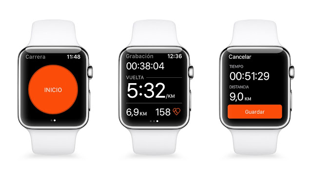 Strava está disponible para el Apple Watch Series 2