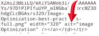 Adding image alt text