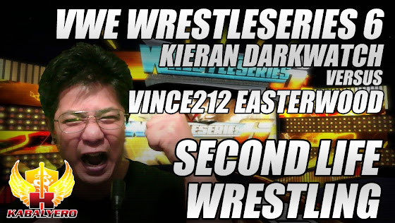 Second Life Wrestling, VWE WrestlerSeries 6, Kieran Darkwatch vs Vince212 Easterwood