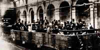 строительство первого в мире Лондонского метро