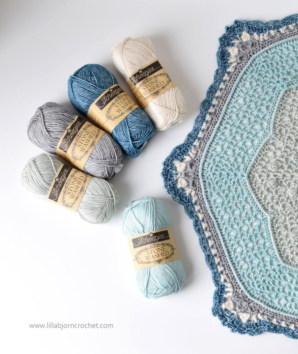 April Showers Mandala crochet make-a-long. General Information