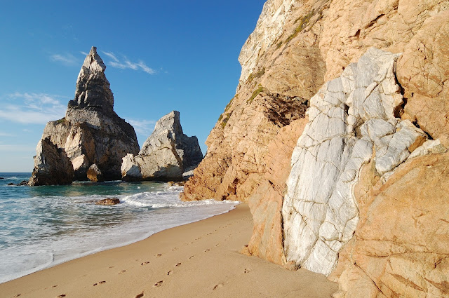 spiaggia di Ursa, a Sintra, Portogallo